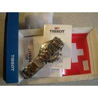 Часы TISSOT,Swiss Made!,WR100m,кварцевый хронограф!