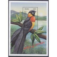 1999 Уганда 2168 / B315 Птицы 7,50евро