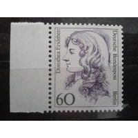 Берлин 1988 Стандарт, артистка 18 век Михель-1,5 евро
