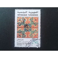 Тунис 2001 ковровый узор