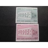 Сан-Марино 1969 Европа полная