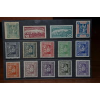 Набор марок ранней Германии. 7 сканов. Чистые и гашенные. Много серий. См. фото.
