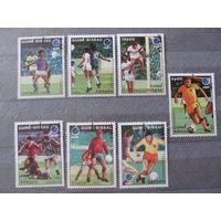 Гвинея-Биссау. 1988. Футбол