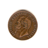 10 чентизимо 1866 г. Н