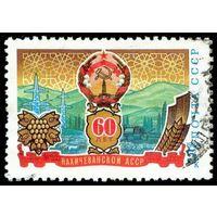 60 лет Нахичеванской АССР СССР 1984 год серия из 1 марки