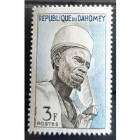Почтовая марка 1963 People- Дагомея