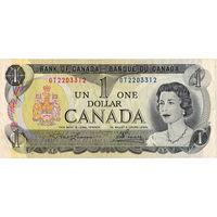 Канада, 1 доллар обр. 1973 г.
