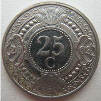Антильские острова 25 центов 2003 г. (d)