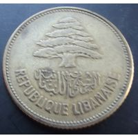 Ливан. 25 пиастров 1952