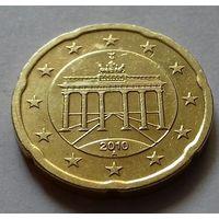 20 евроцентов, Германия 2010 A