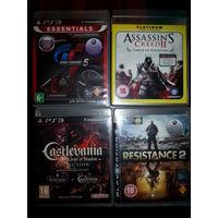PlayStation 3 игровые диски (цены в описании)