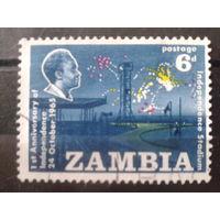 Замбия 1965 1-я годовщина независимости, президент