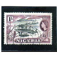 Нигерия.Ми-79.Плоты. Серия: Мотивы страны. 1953.