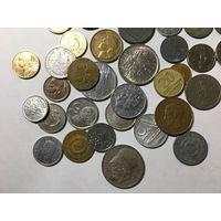 Сборный лот #1.4 - 50 монет, все разные, без СССР и СНГ