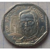 Франция 2 франка, 1995 100 лет со дня смерти Луи Пастера       ( К-7-2 )