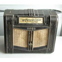 Ламповый батарейный радиоприемник НОВЬ