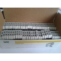 Зажим наборный ЗНИ-4мм2 (JXB35А) серый (упаковка 60 шт)
