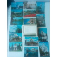 Набор открыток ВДНХ СССР 1981 год