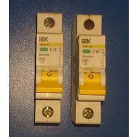 Автоматический выключатель IEK ВА 47-29  С16