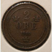 2эре 1905. Швеция. KM# 746. Обмен