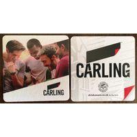 Подставка под пиво Carling No 3 /Великобритания/