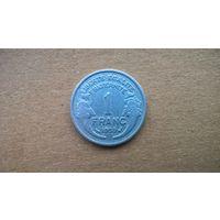 Франция 1 франк, 1950г.