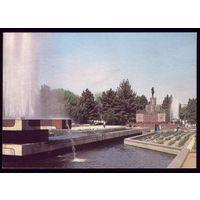 1989 год Ашхабад Сквер Ленина Ленин на месте