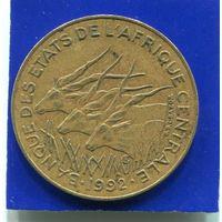 Центральная Африка 10 франков 1992