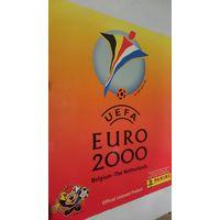 Альбом для наклеек UEFA ,euro 2000, Panini, италия