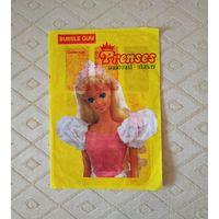 Альбом, наклейки Prenses. Барби. 90г