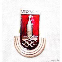 Значок Москва 80