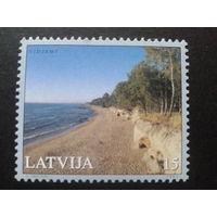 Латвия 2001 берег моря