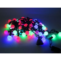 Новый Год! Светодиодная LED гирлянда ШАРИКИ, Разные Размеры