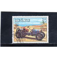 Лаос. Ми-754. Автомобиль Bugatti. Серия: 19 Конгресс UPU (Всемирный почтовый союз).1984.