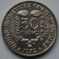 Западная Африка, 50 франков 1972 г
