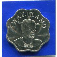 Свазиленд 10 центов 2002 UNC