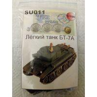 3,62 SU011 Легкий танк БТ-7А Масштаб 1:100