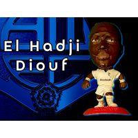 El Hadji Diouf BOLTON Wanderers 5 см Фигурка футболиста MC4237