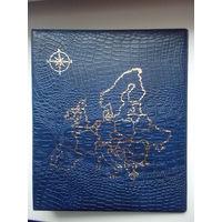 Папка формата Оптима с картой Европы