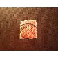 Германия 1880 г. Рейх.Императорский орел и корона в овале.