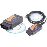 Адаптер ELM327 v 1.4 (на микроконтроллере PIC25K80) OBDII USB