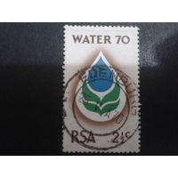 ЮАР 1970 вода, эмблема