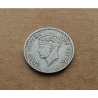Южная Родезия, 1 шиллинг 1950 г., Георг VI (1936-1952), без титула императора