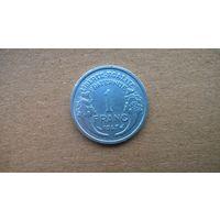 Франция 1 франк, 1947г.