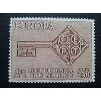 Сан-Марино 1968 Европа полная
