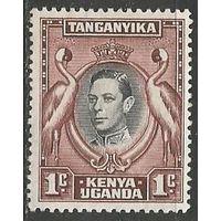 Кения Уганда и Танганьика. Король Георг VI. 1938г. Mi#52.