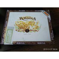 """Коробка из под сигар""""ROBAINA"""" дерево Куба."""