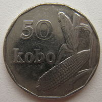 Нигерия 50 кобо 2006 г.