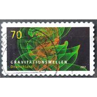 2017 - почтовая марка  - астрофизика  -  Германия