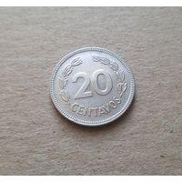 Эквадор 20 сентаво 1980 (REPUBLICA DEL ECUADOR 20 Centavos 1980)